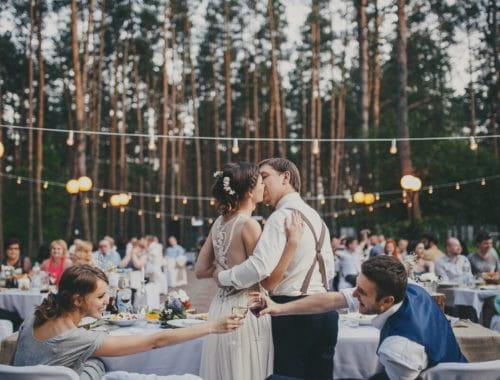 обложка свадьба на природе